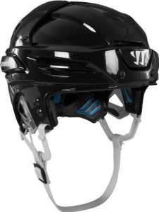 Warrior hockey helmet