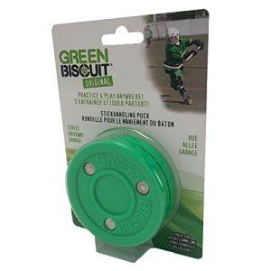 Green Biscuit Original Hockey Puck