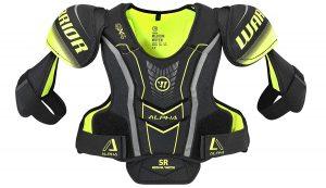 best Warrior hockey shoulder pad