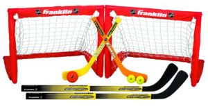 Folding Hockey Goal Set For Kids