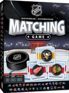 NHL Matching Card Game For Kids