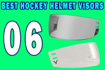 Hockey Helmet Visors