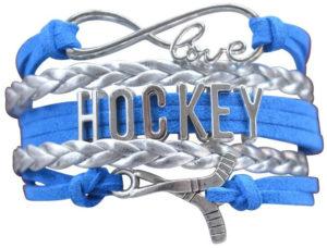 Hockey Charm Bracelet