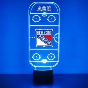 Hockey Rink Night Light