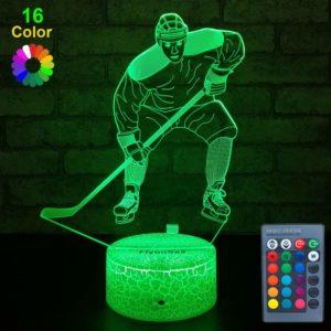 Ice Hockey Decor Light
