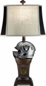 NFL Oakland Raiders Trophy Lamp