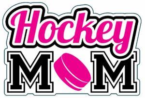 Hockey Mom Vinyl Decal