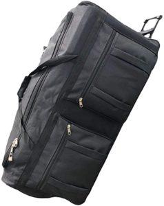 Gothamite Rolling Duffle Wheeled Bag