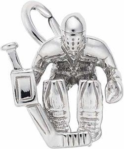 Hockey Goalie Charm