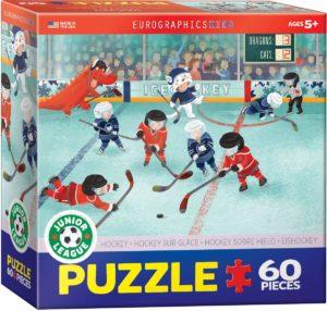 Junior Hockey League Puzzle