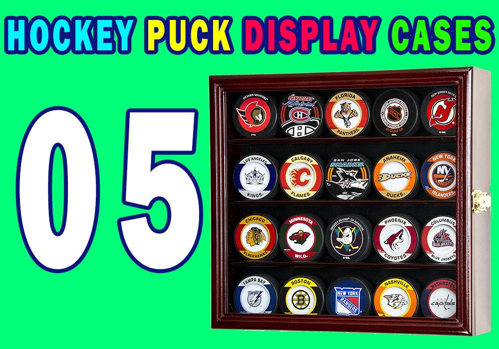 Hockey Puck Display Cases