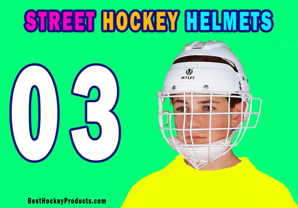 Street Hockey Helmets