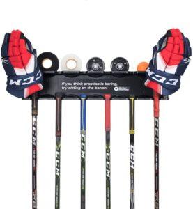Better Hockey Stick Holder
