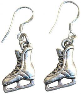 Ice Skating Earrings Gift