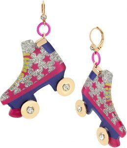Roller Blade Drop Earrings Gifts