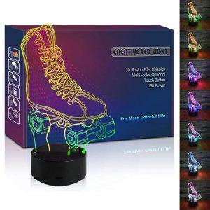 Roller Skate 3D Lamp Gift