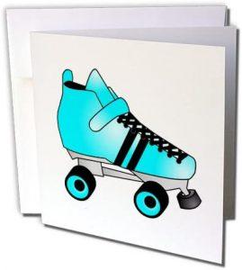 Roller Skate Greeting Card