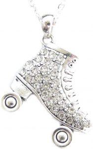Roller Skate Necklace Gift