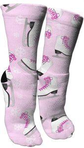 AntspuentCrew Socks For Figure Skaters